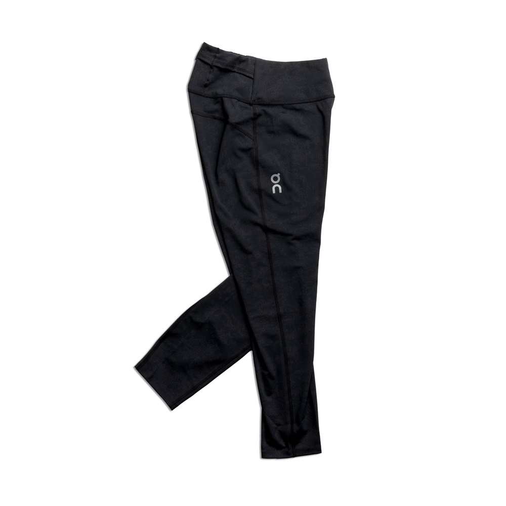 【WOMEN'S】On Tights 7/8 Black