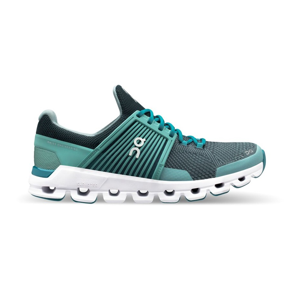 【WOMEN'S】On Cloudswift Teal/Storm