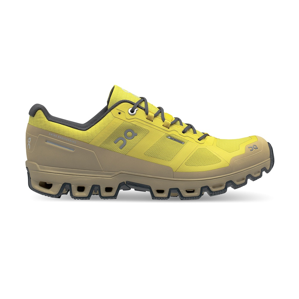 【MEN'S】On Cloudventure Waterproof Mustard/Shadow