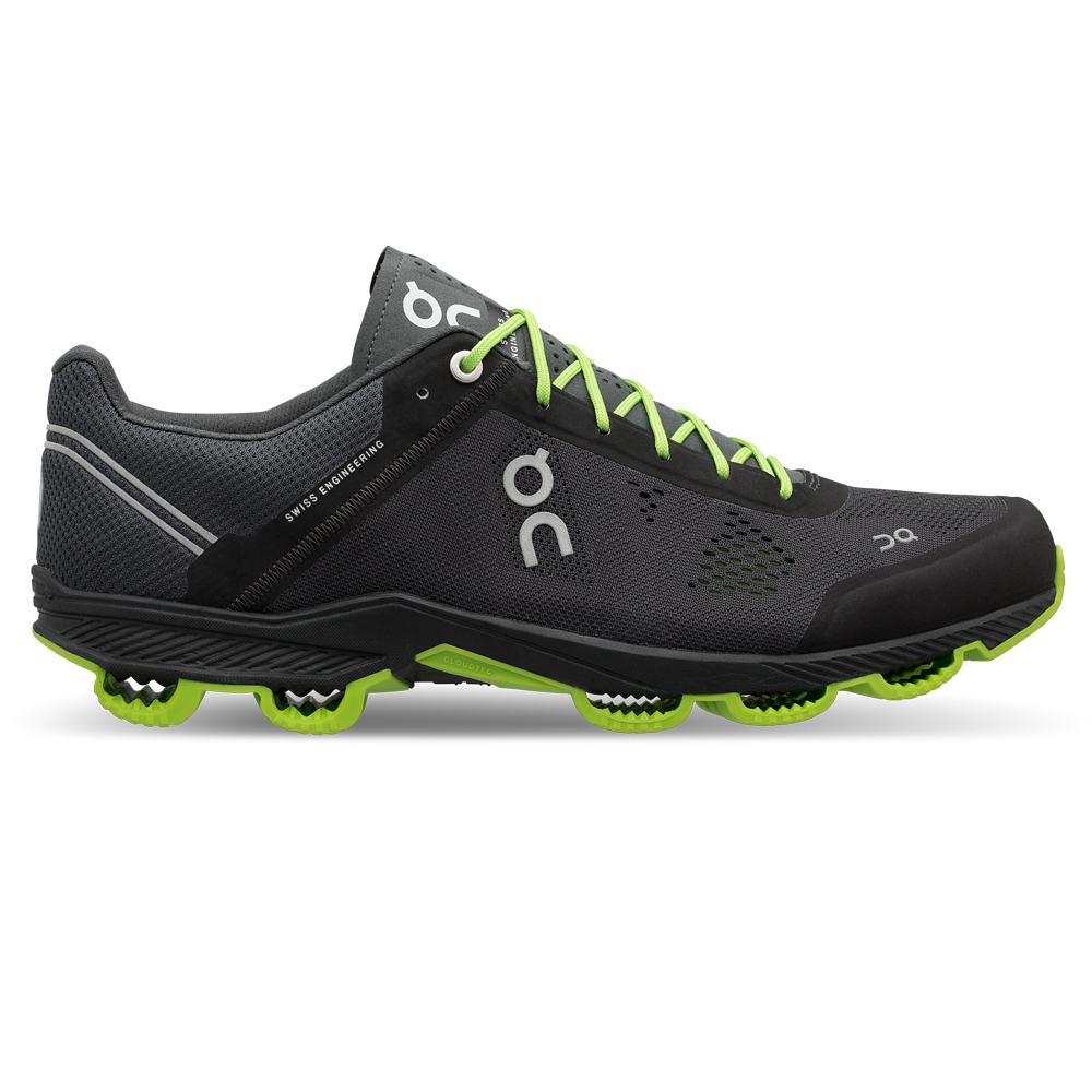 【WOMEN'S】On Cloudsurfer Black/Lime