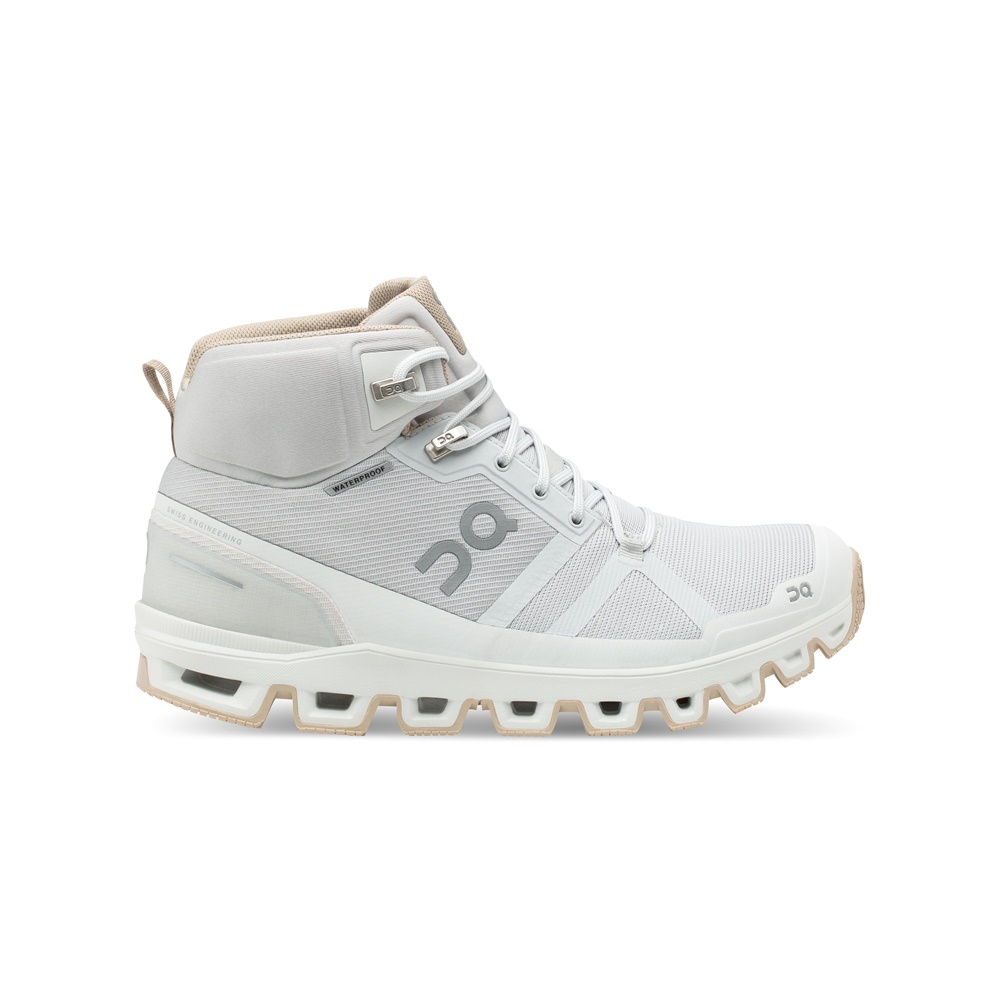 【WOMEN'S】On Cloudrock Waterproof Glacier/Sand