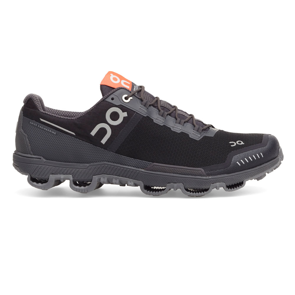 【WOMEN'S】On Cloudventure classic Waterproof Black/Dark