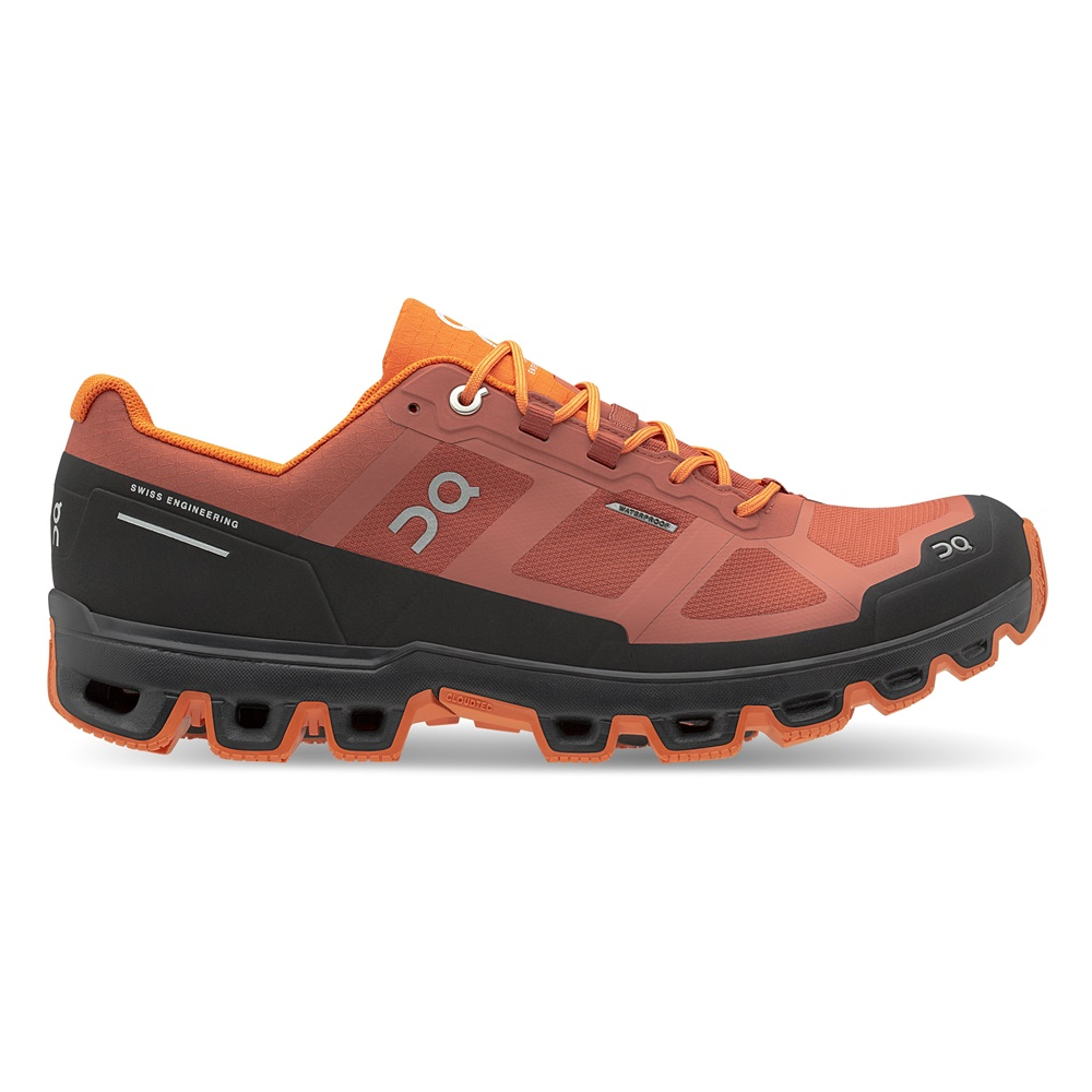 【MEN'S】On Cloudventure Waterproof Rust/Orange