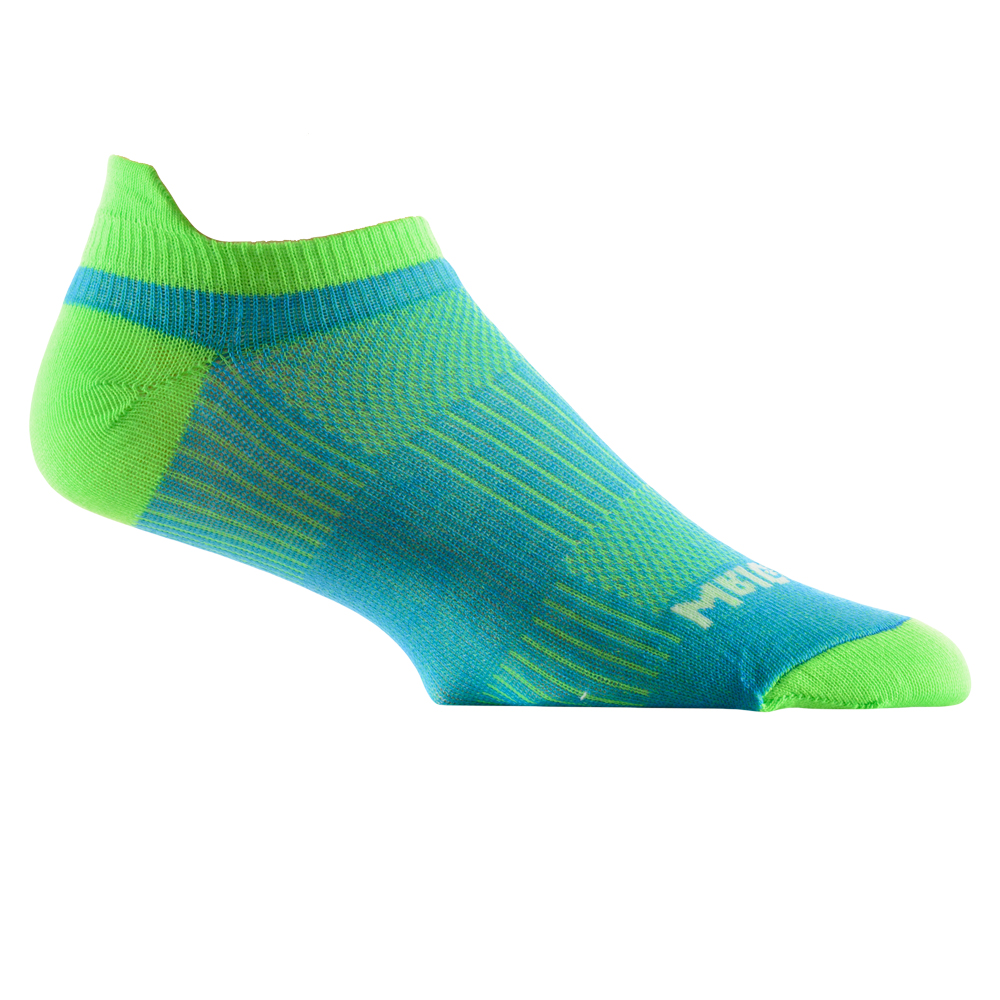 【UNISEX】WRIGHTSOCK COOLMESH Ⅱ Tab Blue/Green