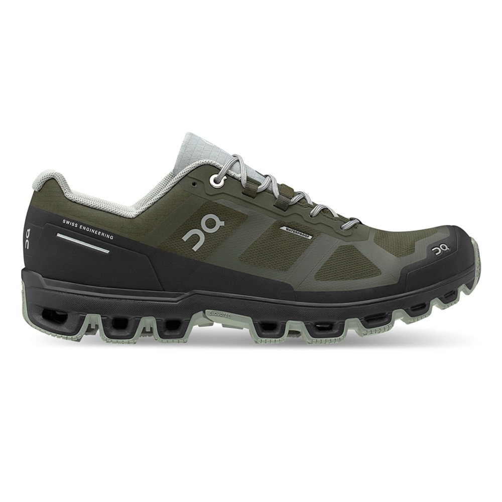 【MEN'S】On Cloudventure Waterproof Fir/Lunar